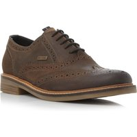 Barbour Redcar Casual Lace Up Brogues, Medium Brown