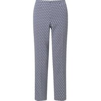 James Lakeland Print Capri Trousers, Blue