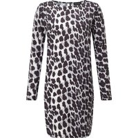 James Lakeland Animal Tunic Dress, Black
