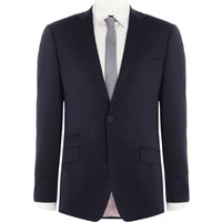 Mens Without Prejudice Randolph navy stock suit jacket, Blue