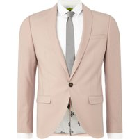 Men's Noose And Monkey Ellroy Suit Jacket, Pale Pink