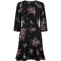 Warehouse Marianne Printed Dress, Multi-Coloured