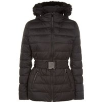 Jaeger Short Puffer Jacket, Black