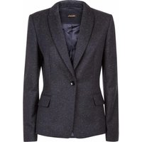 Jaeger Speckled Peak Collar Slim Fit Jacket, Multi-Coloured