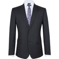Men's Paul Costelloe Charcoal Micro Check Suit, Charcoal