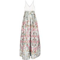 Ted Baker Meigan Patchwork Maxi Dress, Blue