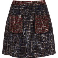 Ted Baker Juley CBN Patch Pocket A-Line Skirt, Blue