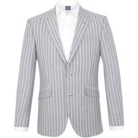 Men's Aston & Gunn Calder stripe tailored jacket, Blue
