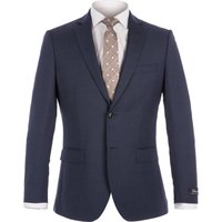 Mens Alexandre of England Smithfield Blue Micro Suit, Blue