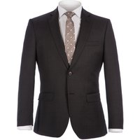 Mens Alexandre of England Rosewood Charcoal Pindot Suit, Charcoal