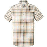 Men's Craghoppers Holbrook Short Sleeved Check Shirt, Dark Green