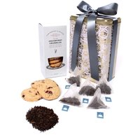 Floric Darjeeling Tea With Cranberry Crumble Biscuits
