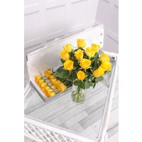 Floric 12 Yellow Letterbox Roses, Yellow