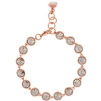 Ted Baker T12922402 raalyn rivoli crystal bracelet, Rose Gold