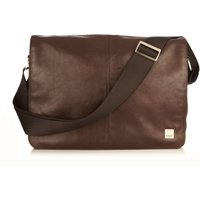 Knomo Kinsale 13 Cross Body Messenger Bag, Brown