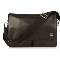 Knomo Kobe 15 Soft Messenger Bag, Black