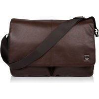 Knomo Kobe 15 Soft Messenger Bag, Brown