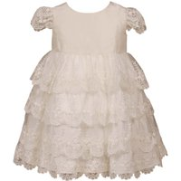 Heritage Girls Charlotte Lace Dress, White