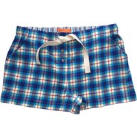 Mini Vanilla Girls Woven Lounge Shorts, Blue