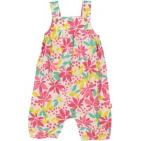Kite Baby Girls Tropical Dungarees, Multi-Coloured