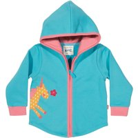 Kite Baby Girls Lulworth Hoody, Blue