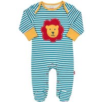 Kite Baby Boys Lion Sleepsuit, Blue - Lion Gifts