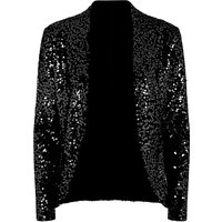 HotSquash Sequin jacket with thermal lining, Black