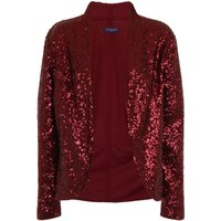 HotSquash Sequin jacket with thermal lining, Wine