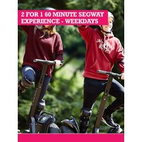Buyagift 2 For 1 60 Minute Segway Experience - Weekdays