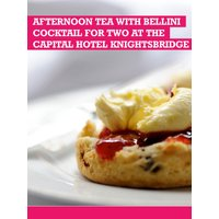 Buyagift Afternoon Tea With Bellini Cocktail For 2