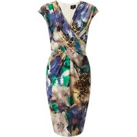 Ariella Annie Wrap V-Neck Shift Dress, Multi-Coloured