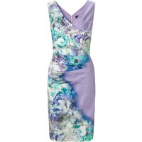 Ariella Blue sally printed pencil dress, Lavender