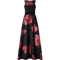 Ariella Maddox Floral Print Dress, Black