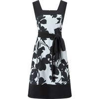 Ariella Logan Printed Prom Dress, Black