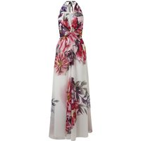 Ariella Benedict Halter Print Maxi Dress, Multi-Coloured