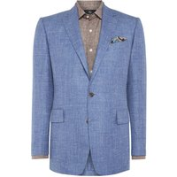 Mens Chester Barrie Textured Albemarle Jacket, Blue