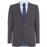 Mens Chester Barrie Grey Fixed 2 Pc Suit, Undercoat