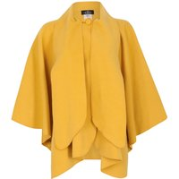 David Barry Faux Cashmere Cape, Yellow - Yellow Gifts