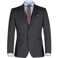 Mens Alexandre of England Weston Charcoal Twill Jacket, Charcoal