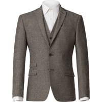 Mens Alexandre of England Bartow Donegal Jacket, Oatmeal