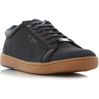 Ted Baker Ternur Textile Print Cupsole Trainers, Black