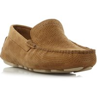 UGG Henrick stripe leather driving shoes, Tan - Ugg Gifts