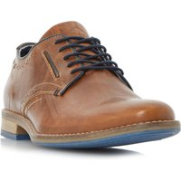 Dune Brewer Piped Gibson Casual Shoes, Tan