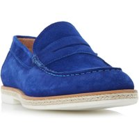 Dune Boris espadrille rand loafer shoes, Blue - Shoes Gifts