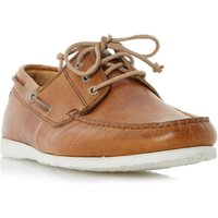 Dune Belize Lace Up Boat Shoes, Tan