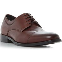 Kenneth Cole Leisure time 4 eye toecap gibson shoe, Red