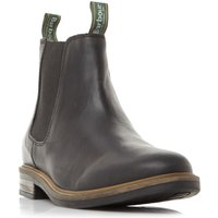Barbour Farsley Natural Sole Chelsea, Black