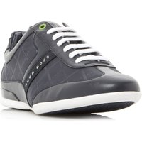 Hugo Boss Space Low Print Trainers, Blue