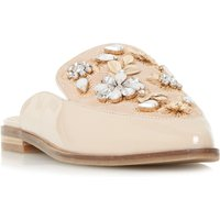 Dune GEMILY BACKLESS LOAFERS, Nude