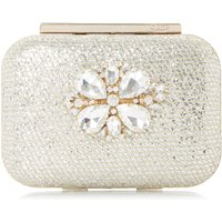 Dune Blossome DI Embellished Box Bag, Gold